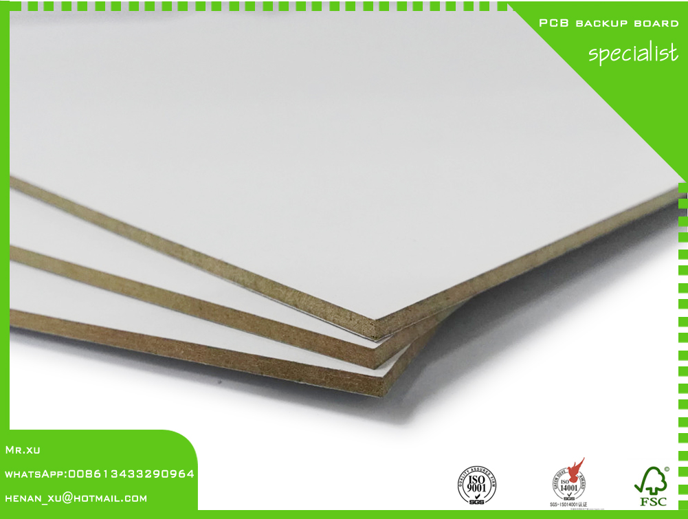 PCB Drill Melamine laminated Fibreboard Backup Materials