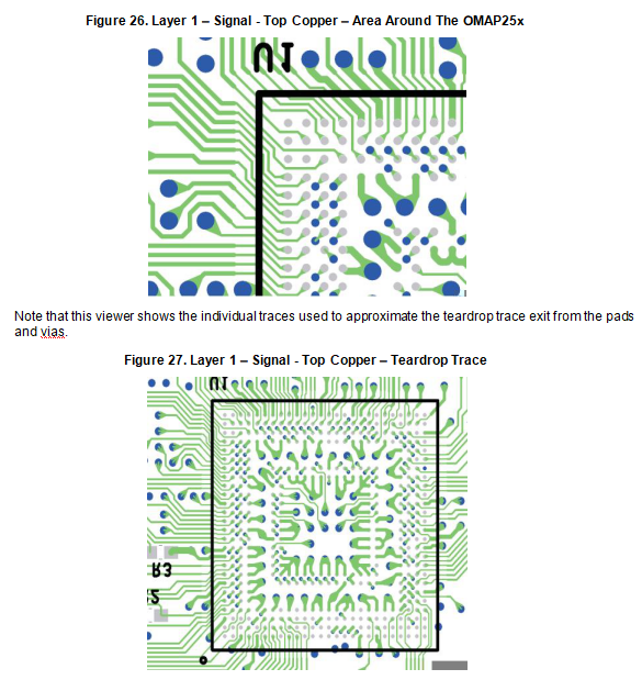 The example of PCB design